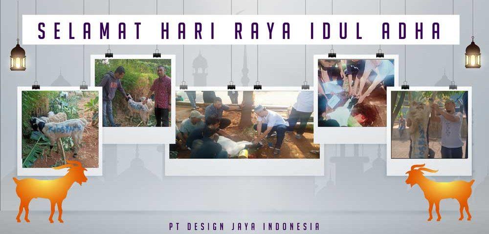 pemotongan hewan qurban PT design jaya Indonesia